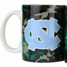 North Carolina Tar Heels Camouflage 11oz Coffee Mug