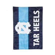 North Carolina Tar Heels Embellish House Flag