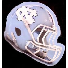 "North Carolina Tar Heels 5"" x 6"" Helmet Die-Cut Window Decal"