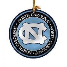 North Carolina Tar Heels Ceramic Mini Plate Ornament