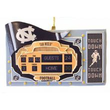 North Carolina Tar Heels Scoreboard Ornament