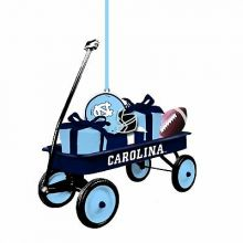 North Carolina Tar Heels Team Wagon Ornament