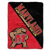 Maryland Terrapins Super Plush Fleece Throw