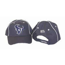 Houston Texans Striped Navy Adjustable Hat