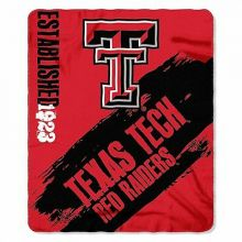 Texas Tech Red Raiders Established  Fleece Throw Blanket