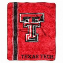 Texas Tech  Jersey Sherpa Throw Blanket