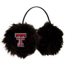 Texas Tech Red Raiders Embroidered Faux Fur Team Logo Earmuffs Cheermuffs
