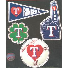 Texas Rangers 4 Piece Magnet Set