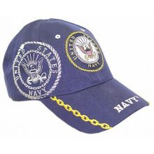United States Navy Gold Chain Adjustable Hat