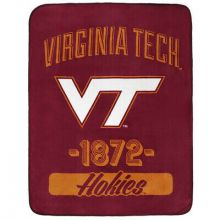 Virginia Tech hokies Varsity Super Plush Fleece Throw