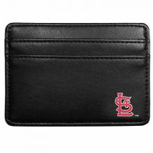 MLB St. Louis Cardinals Leather Weekend Wallet, Black