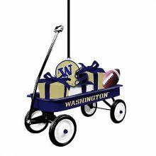 Washington Huskies Team Wagon Ornament