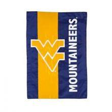 West Virginia Mountaineers Embellish House Flag