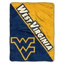 West Virginia Mountaineers Super Plush Fleece Throw