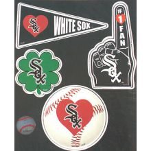 Chicago White Sox 4 Piece Magnet Set