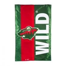Minnesota Wild Embellish House Flag