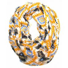 Houston Dynamo Striped Infinity Scarf