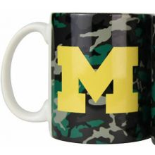 Michigan Wolverines Camouflage 11oz Coffee Mug
