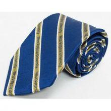 NCAA Officially Licensed West Virginia Mountaineers Prep Silk Necktie