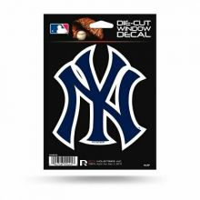 "New York Yankees 9"" x 5"" x 0.2"" Die-Cut Window Decal"