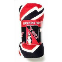 Youngstown State Super Plush Fleece Throw