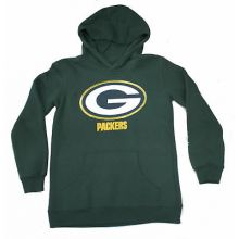 Green Bay Packers Youth Reflective Gold Trim Hoodie