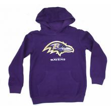 Baltimore Ravens Youth Reflective Gold Trim Hoodie