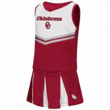 Oklahoma Sooners Colosseum Toddler 2 Pc Cheerdress