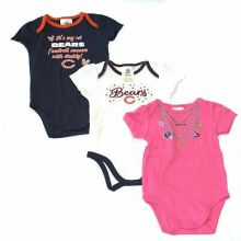 Chicago Bears 2015 Girls 3 Piece Bodysuit Set