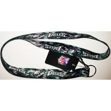 Philadelphia Eagles Carabiner Lanyard Key Chain