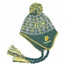 NCAA Oregon Ducks Braided Tassel Pom Toddler Size Beanie Hat