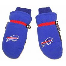NFL Officially Licensed CHILD Thinsulate Ski Mittens (Buffalo Bills)