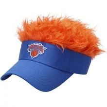 New York Knicks Flair Hair Adjustable Visor
