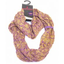 LSU Tigers Chunky Duo Knit Infinity Scarf