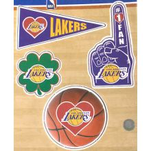 Los Angeles Lakers Stationery Desk Caddy with Matching Ballpoint Grip Pen