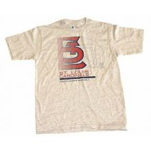 MLB Licensed St. Louis Cardinals Authentic Collection Slant Print YOUTH Shirt (X