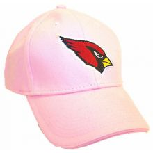 NFL Officially Licensed Embroidered Arizona Cardinals Womens Pink Hat
