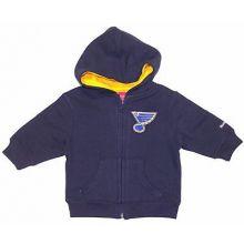 NFL Licensed Denver Broncos Embroidered Quarter Zip Pullover Jacket (4X-large)