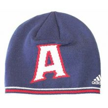 "NBA Officially Licensed Atlanta Hawks Big ""A"" Embroidered Logo Beanie Hat Cap Li"