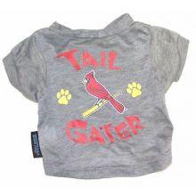 "MLB Licensed St. Louis Cardinals ""Tail Gater"" DOG T-Shirt (XLarge (Neck 18"", Lgt"