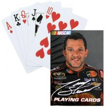 Tony Stewart Cameo Playing Cards