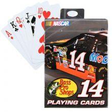 Tony Stewart #14 Playing Cards
