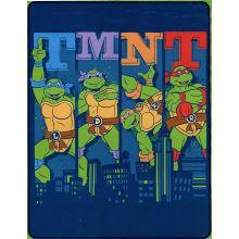 "Teenage Mutant Ninja Turtles Silk Touch Throw 40"" by 50"""