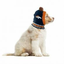 Denver Bronocs Pet Pom Headwear
