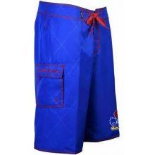 Kansas Jayhawks Solid Color Board Shorts Swim Trunks