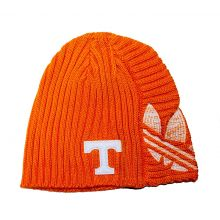 NCAA Licensed Tennessee Volunteers Orange Embroidered Knit Beanie Hat Cap Lid
