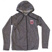 MLS Officially Licensed DC United Zip Up Logo Hoodie (Small)