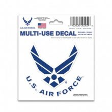 """United States Air Force Multi-Use Decal 3"""" X 4"""""""