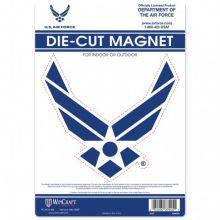 "United States Air Force  6.5"" X 9"" Die-Cut  Magnet"