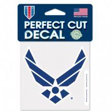 """United States Air Force 4"""" X 4"""" Die-Cut  Perfect Cut Decal"""
